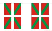 BASQUE BUNTING (SPAIN) - 9 METRES 30 FLAGS